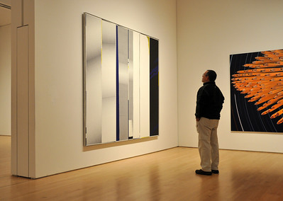 Appreciating the work at the Museum of Modern Art