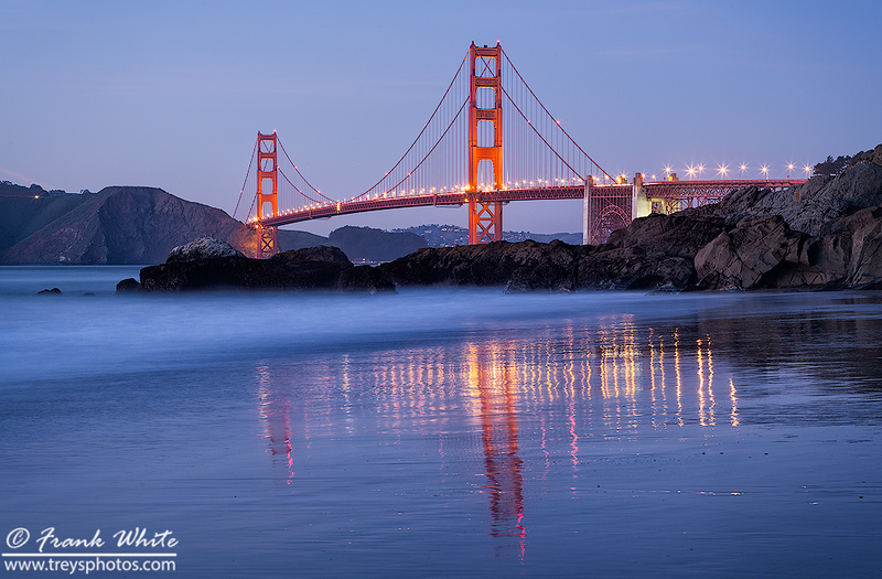 Golden Gate bridge blue hour #1
