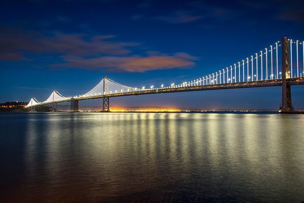 Bay Bridge from the waterfront