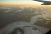 Alaska glacier from the air