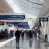 Airport terminal  in San Jose, California.