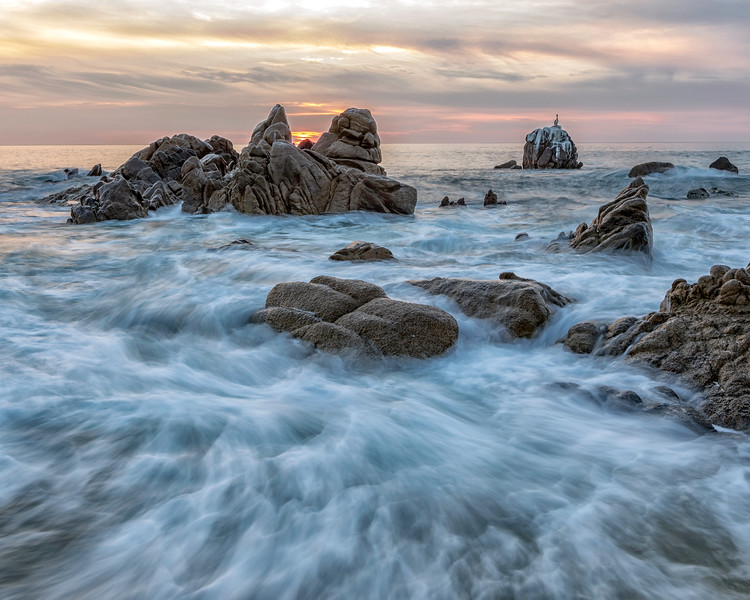 Sunrise surf. San Jose Del Cabo, Sea of Cortez, Baja Sur
