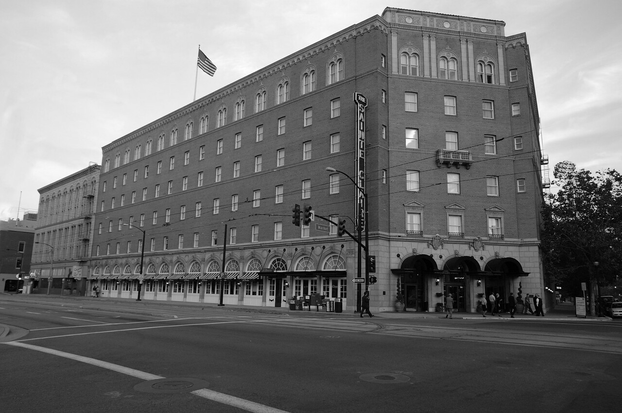 Saint Claire Hotel in San Jose.<br /> <br /> Not sure how old it is but it's very elegant inside.