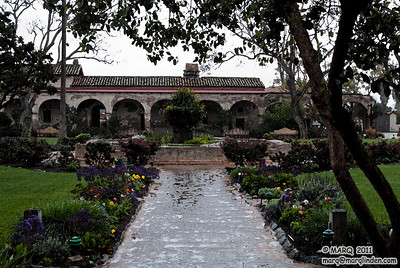 San Juan Capistrano Mission #17 WaterColor
