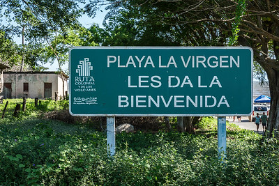 We visited this area on the shore of Lake Nicaragua