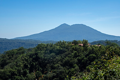 "Nearby is the ""Mombacho"" volcano"