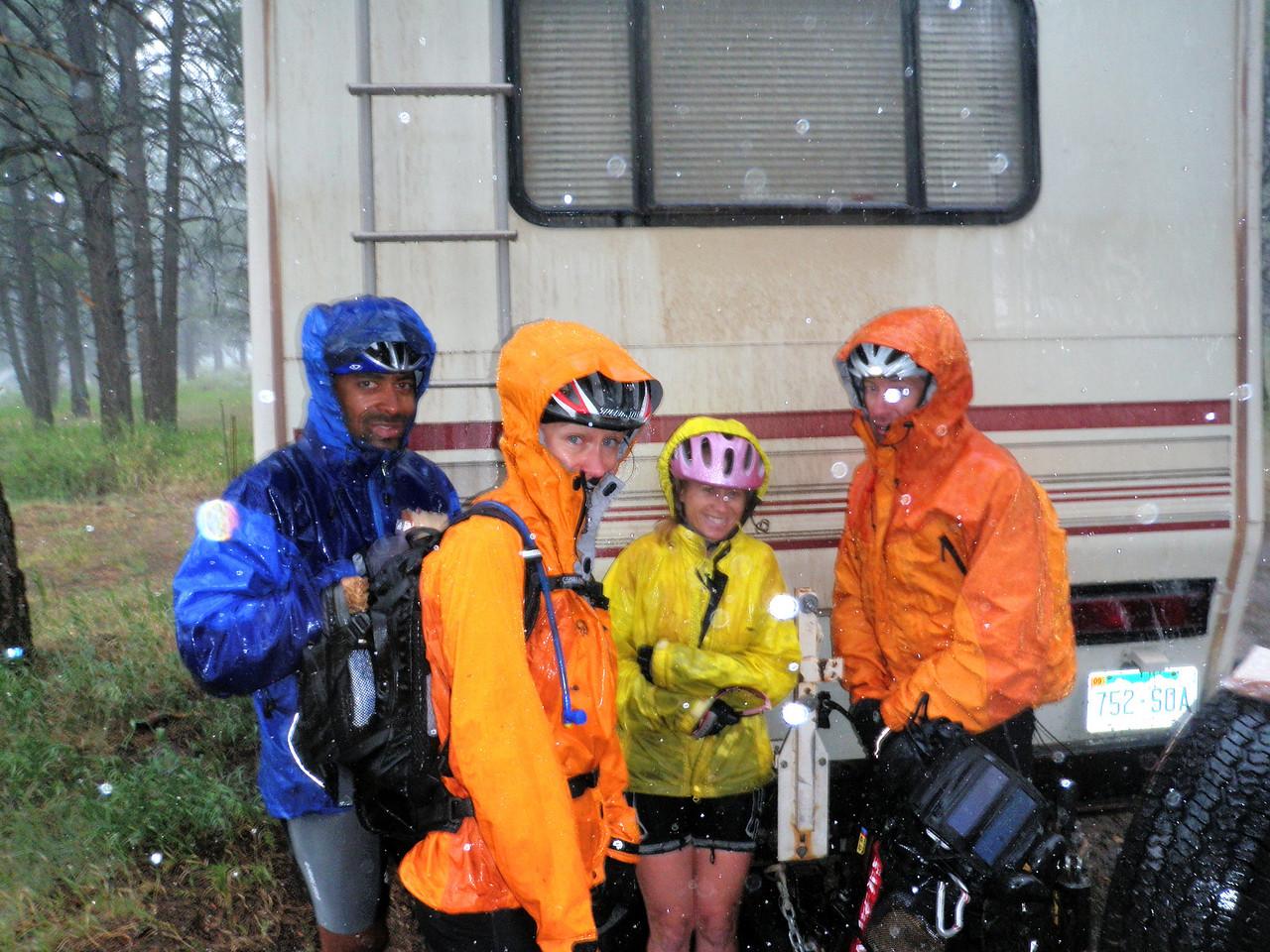 Day 6 Huddling in the Rain