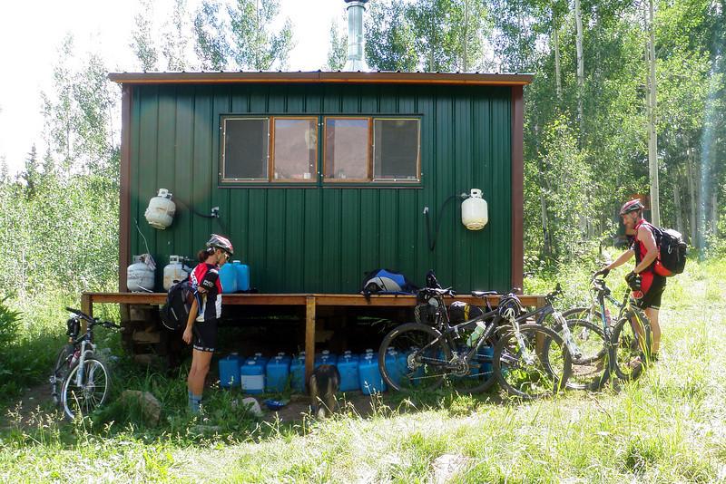 Day 6 Geyser Pass Hut