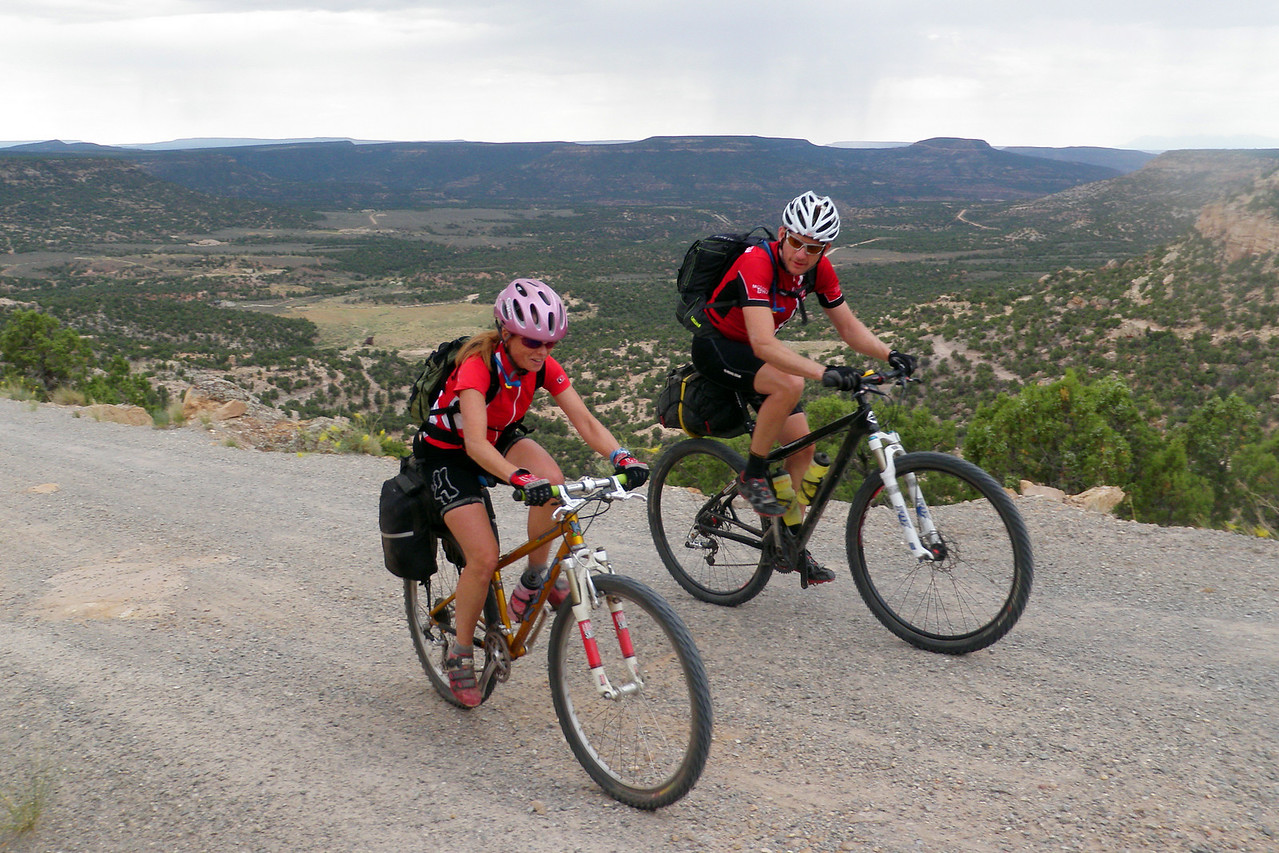 Day 5 Doug and Joni Topping Out Monogram Mesa Climb