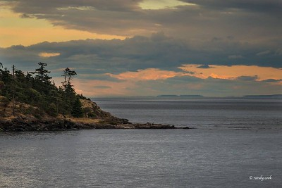 Sunset at Westside Park, San Juan Island, Washington