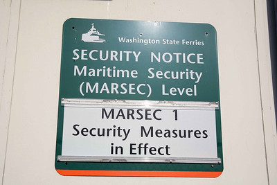 MARSEC Level 1 of 3 the lowest level