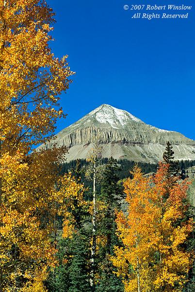 Autumn, Engineer Peak, San Juan National Forest, Colorado, USA, North America