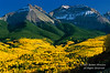 Autumn, Mt. Sneffels Range, San Juan Moutains,Uncompahgre National Forest, Southwest Colorado, USA, North America
