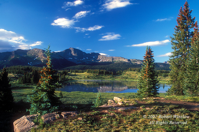 Little Molas Lake, San Juan Mountains, San Juan National Forest, Colorado