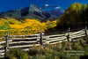 Autumn, Mt. Sneffels Range, San Juan Moutains,Uncompahgre National Forest, Southwest Colorado