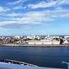 View from the ship of San Juan