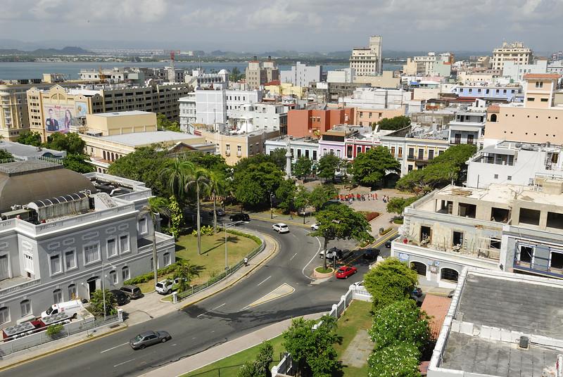 Skyline of old San Juan