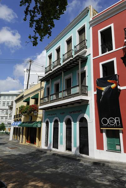 Beginning my tour of Old San Juan