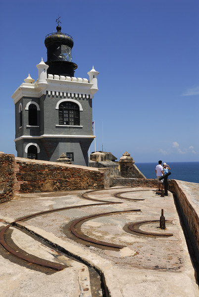 The lighthouse at El Morro castle