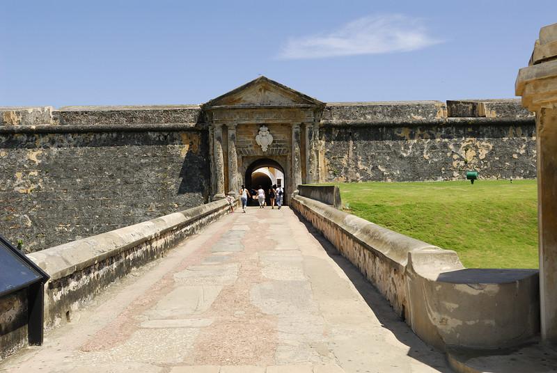 Entrance to El Morro