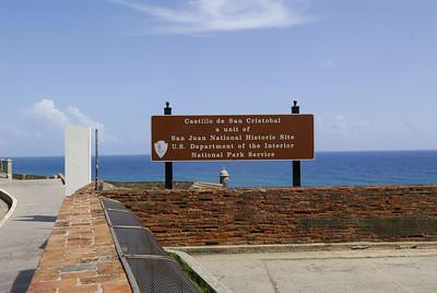Entrance to San Cristobal Castle