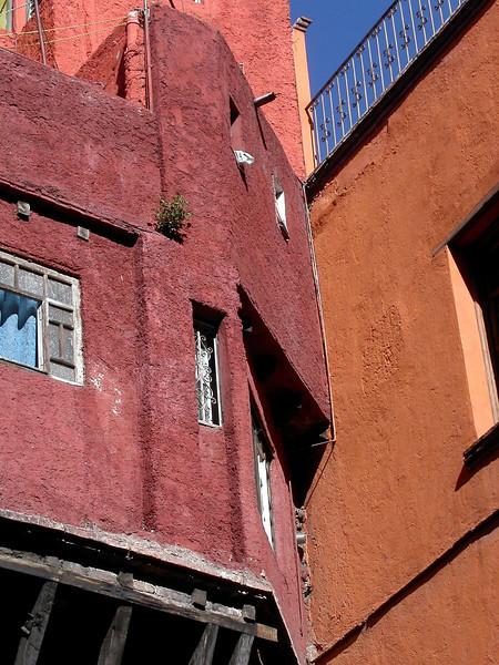 Buildings in Guanajuato