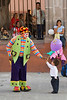 Clown, el jardin entertainment, San Miguel de Allende