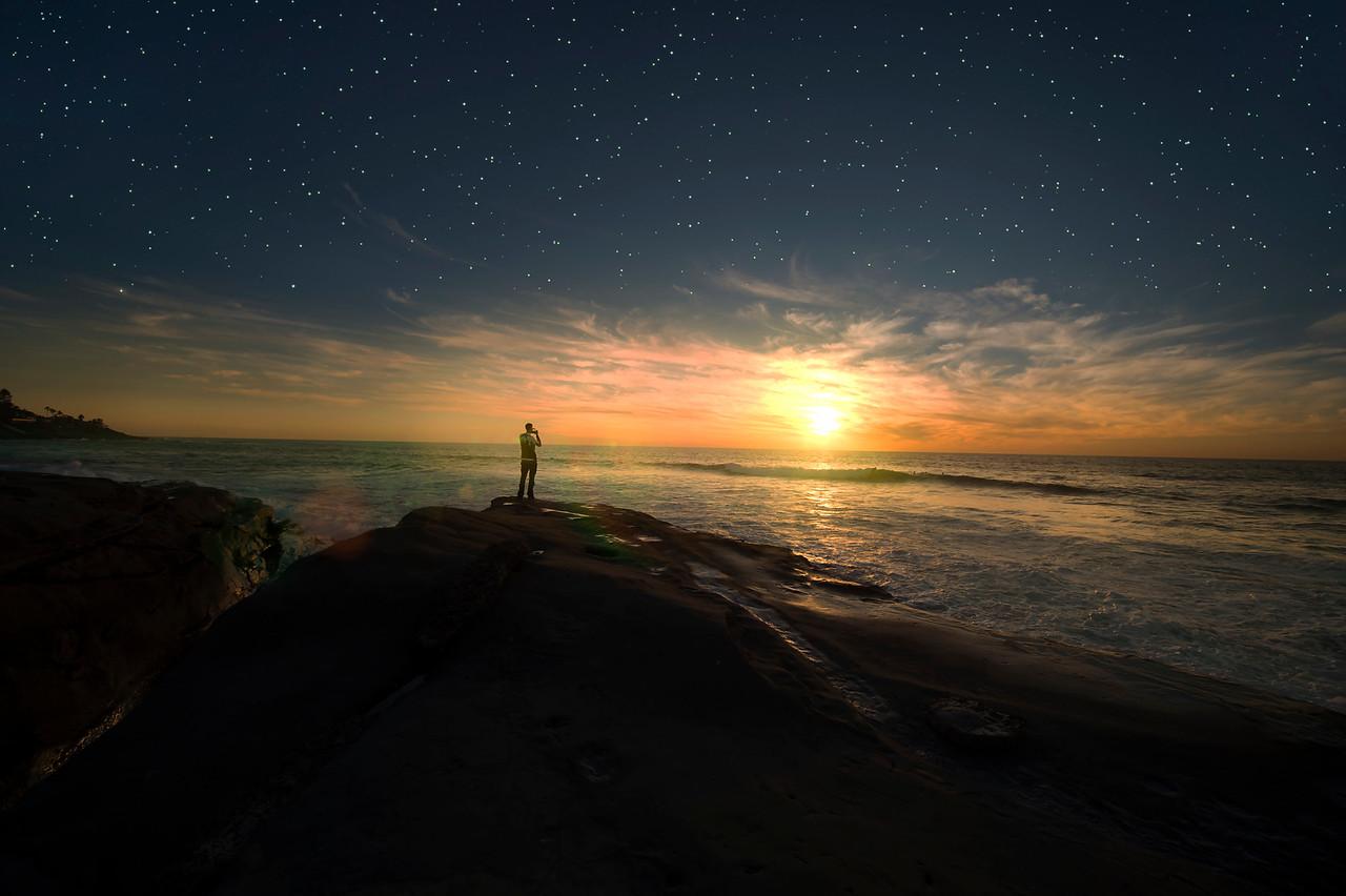 Lone Boy at Windansea Beach