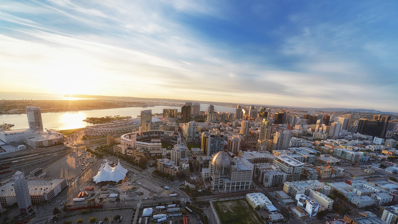 Aerial of Downtown San Diego