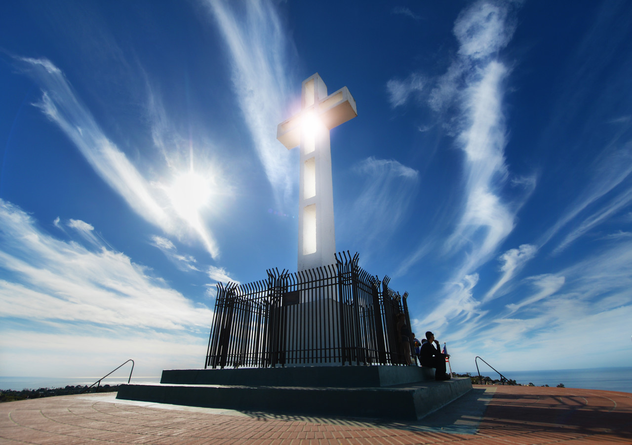 Mount Soledad Cross La Jolla