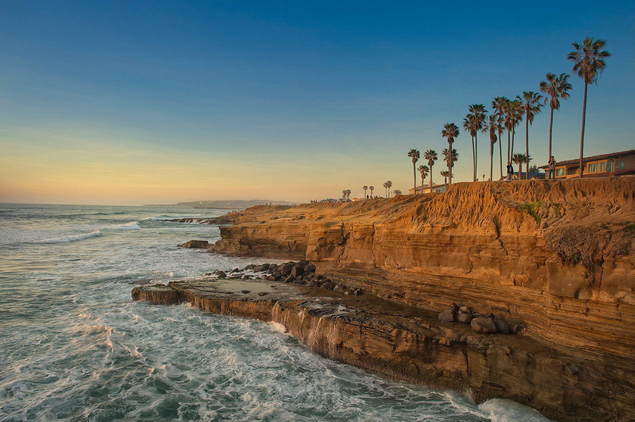 sunset cliffs ocean beach