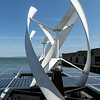 Wind & Solar power on the boat to Alcatraz
