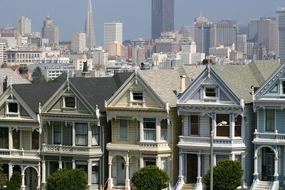"""IMG_3711 The famous """"Painted Ladies"""""""