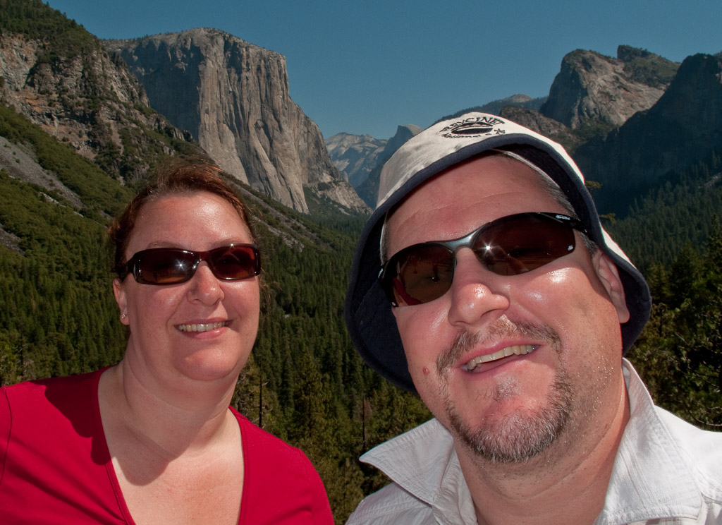 on Yosemite trip...