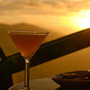 """<span id=""""title"""">Sunset Martini</span> As seen in the View Lounge at the Marriott. Pretty sweet view, but ridiculous prices on food/drink."""