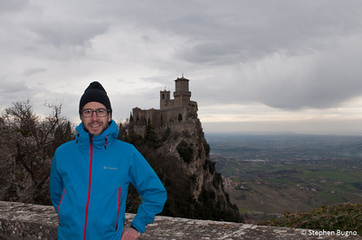 Stephen in San Marino