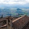 View from San Marino.