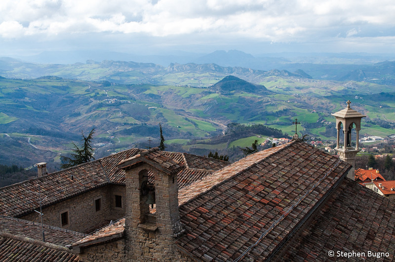 View from San Marino.
