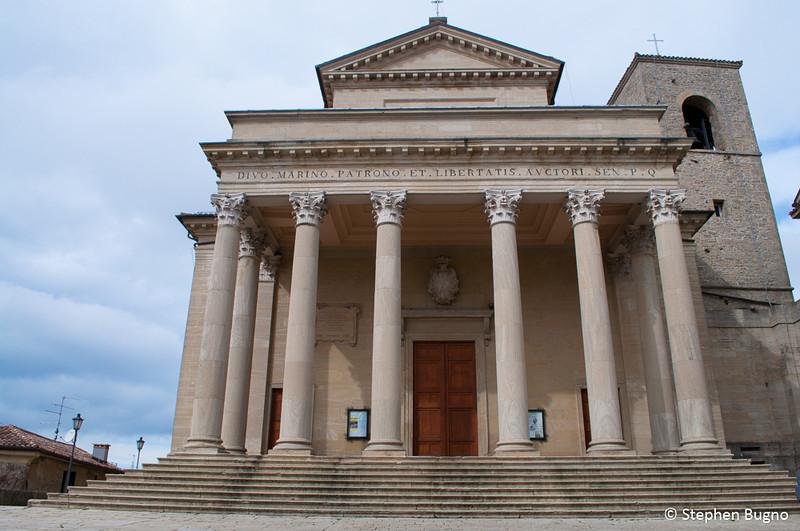 The Basilica in San Marino