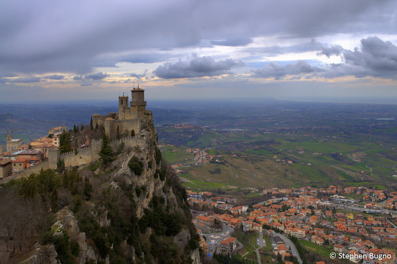 View of the First Watchtower in San Marino