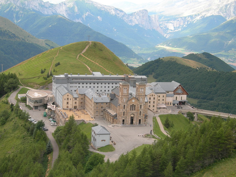 La Salette Sanctuary, in France<br /> <br /> Il santuario di La Salette, in Francia