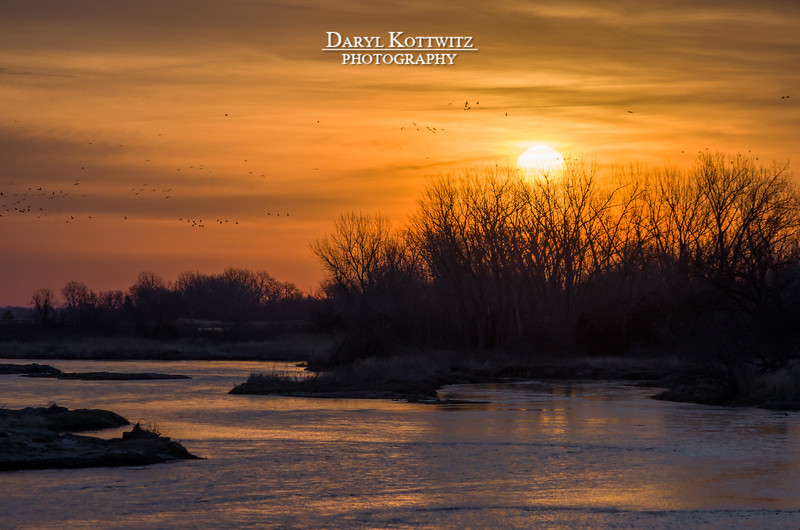 Platte River Sunrise