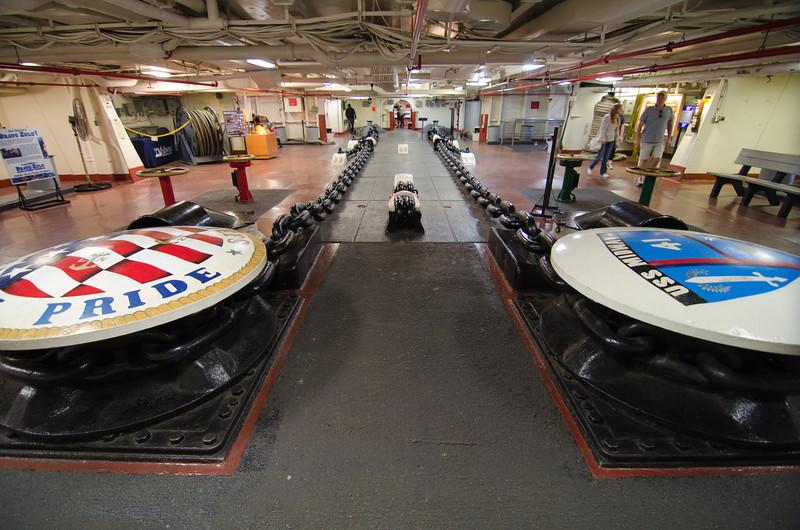 "<span id=""title"">Forecastle</span> <em>USS Midway Museum</em>"