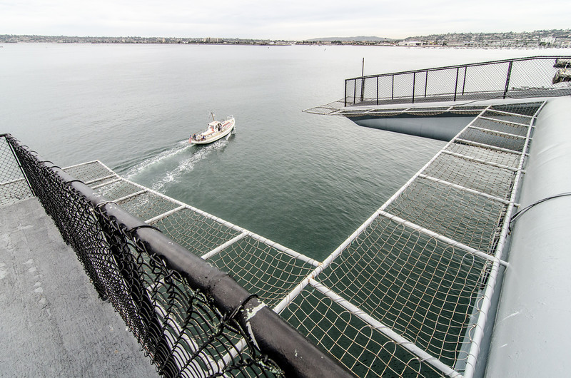 "<span id=""title"">Little Boat</span> <em>USS Midway Museum</em>"