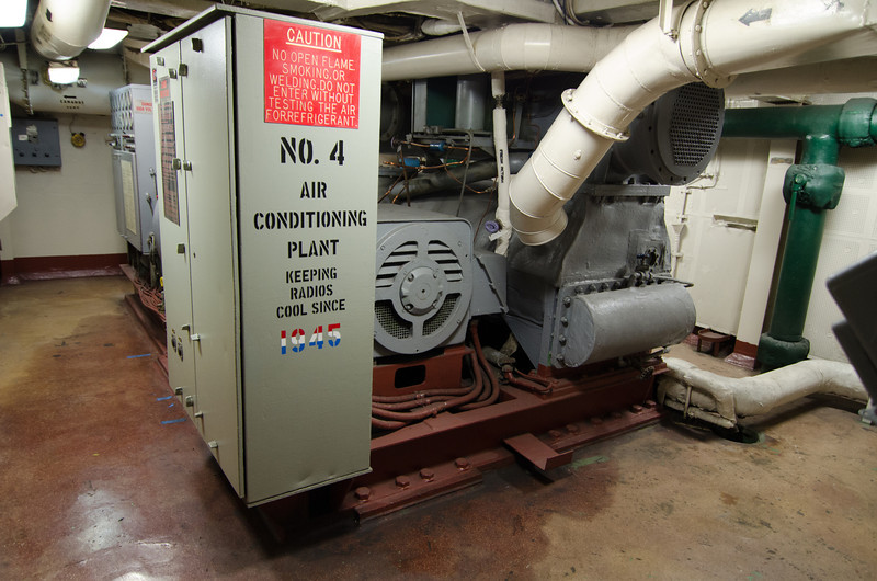 """<span id=""""title"""">Air Conditioning</span> <em>USS Midway Museum</em>"""
