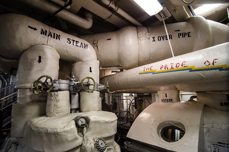 "<span id=""title"">Engine Room</span> <em>USS Midway Museum</em>"