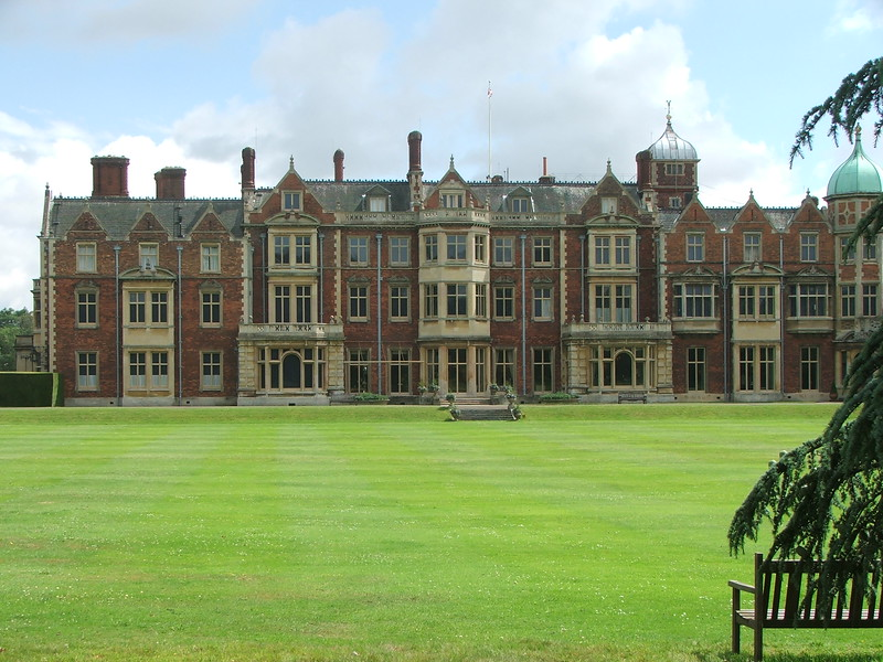 Sandringham House, Norfolk, UK.