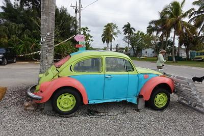an old VW bug