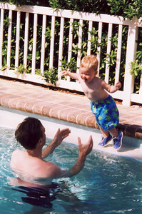 Will Jumping in Pool