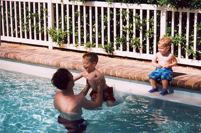 Jack Jumping in Pool 2